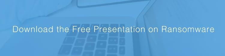ransomware presentation banner