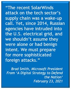 Brad Smith Microsoft President Quote on Hacking Breach
