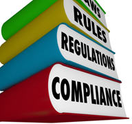 Compliance in the payment card industry is required by the PCI Security Standard Council, not by federal regulation