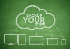 Continuous data backups are recommended for hospitals