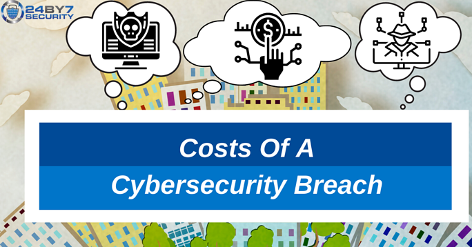 Costs of a cybersecurity breach 24By7Security Blog Hackers Money