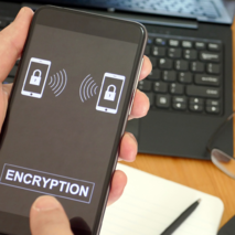 End to end encryption ensures data remains encoded throughout its journey