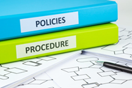 HIPAA compliance policies and procedures must be documented and applied.