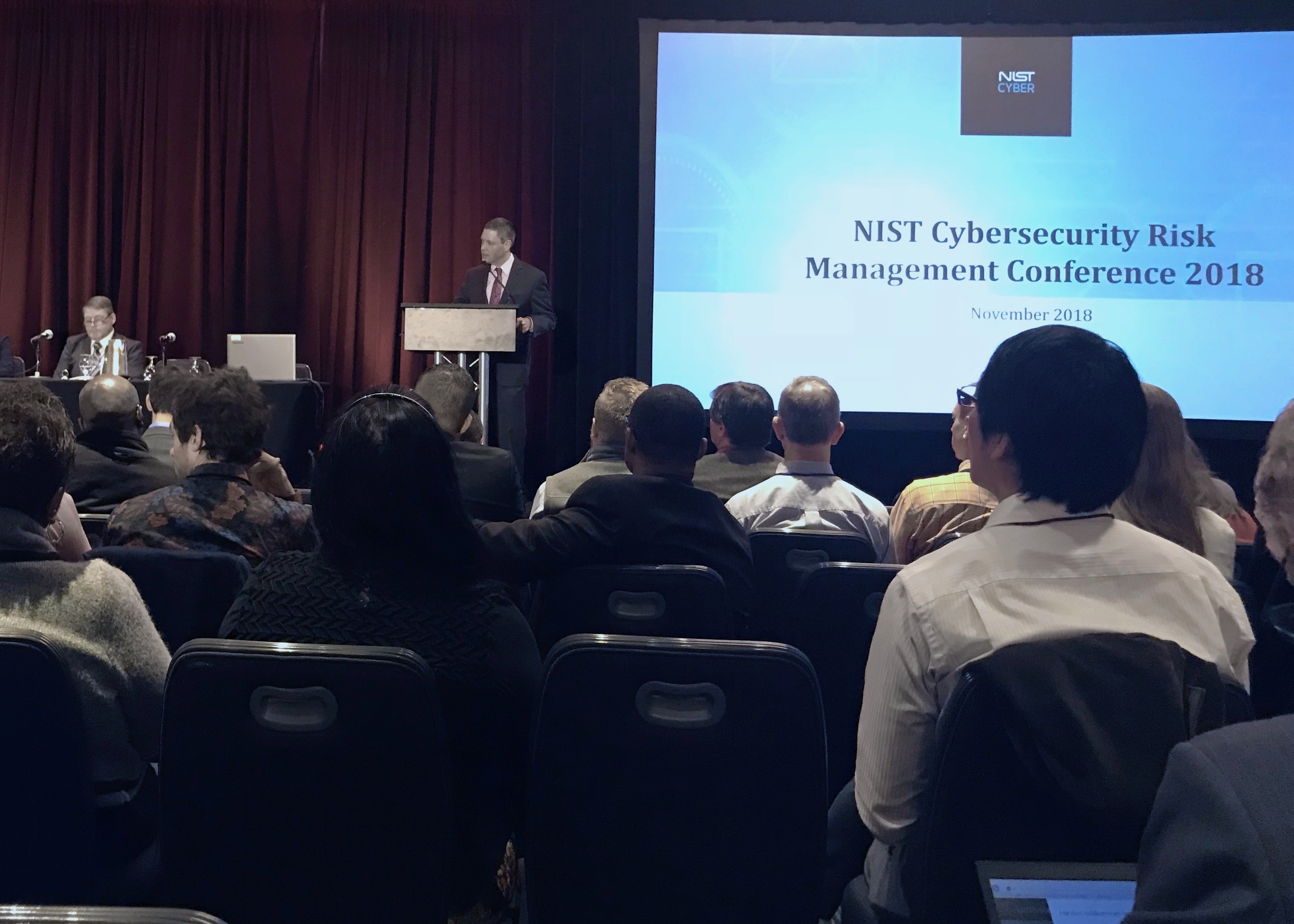 NIST CSF conference 2018 24By7Security Anirudh Nadkarni