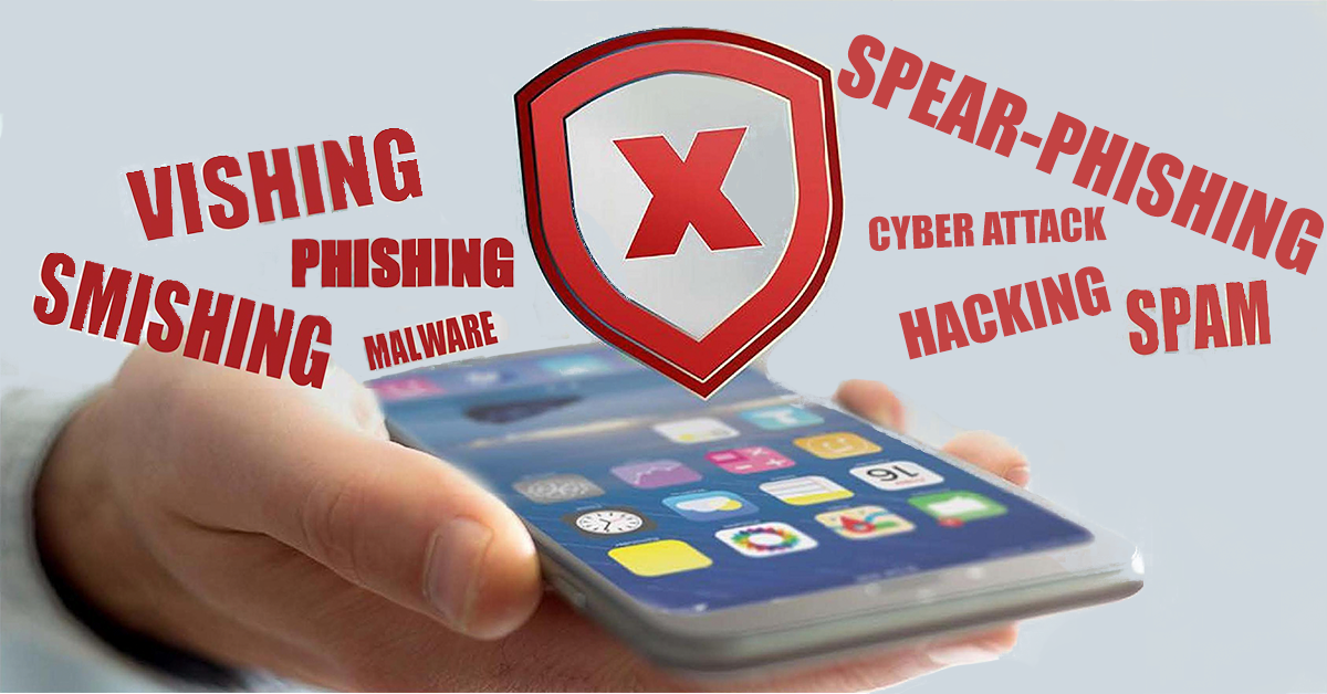 Smishing Vishing Spear-phishing blog by 24By7Security